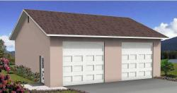 Southwest Style Home Design Plan: 41-219