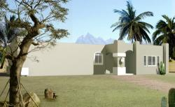 Santa-Fe Style House Plans Plan: 41-246