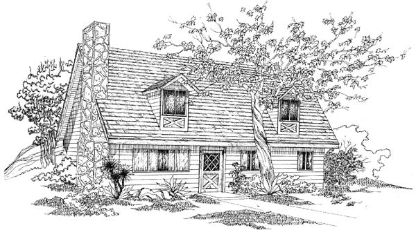 Contemporary Style House Plans Plan: 41-285