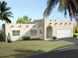 Santa-Fe Style House Plans Plan: 41-311