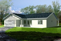 Traditional Style Floor Plans Plan: 41-312