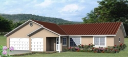 Traditional Style House Plans Plan: 41-313