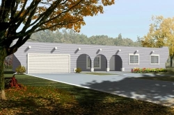 Santa-Fe Style House Plans Plan: 41-334