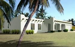 Santa-Fe Style House Plans Plan: 41-399