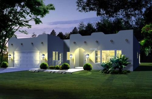 Santa Fe House Plan 4 Bedrooms 2 Bath 1650 Sq Ft Plan 41 470