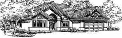 Southwest Style House Plans Plan: 41-565