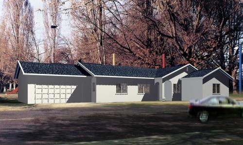 Traditional Style Home Design Plan: 41-584