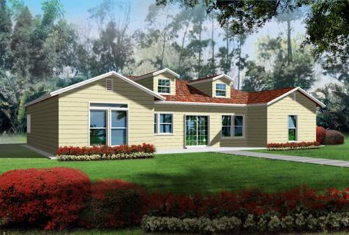 Traditional Style Home Design Plan: 41-587