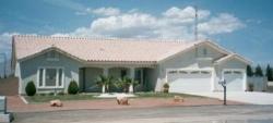 Southwest Style Home Design Plan: 41-605