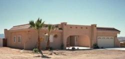 Southwest Style Home Design Plan: 41-716