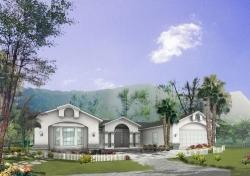 Southwest Style House Plans Plan: 41-726