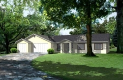 Traditional Style Floor Plans Plan: 41-793