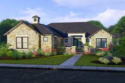 Modern Style House Plans Plan: 42-103
