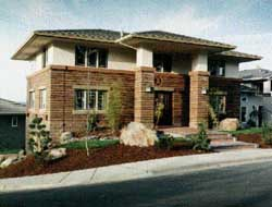Contemporary Style Floor Plans 42-801