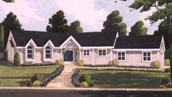 Traditional Style House Plans Plan: 43-127