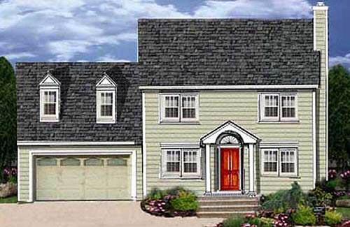 Cape-cod Style House Plans Plan: 43-132