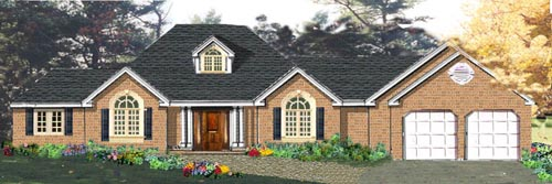 Traditional Style House Plans Plan: 43-152