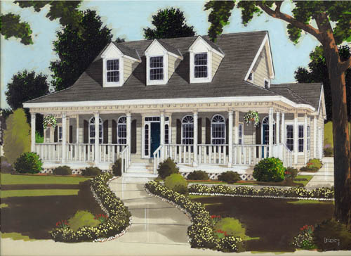 Country Style House Plans Plan: 43-178
