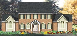 Colonial Style House Plans Plan: 43-179