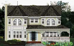 Victorian Style Floor Plans Plan: 43-189