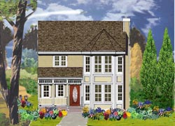 Victorian Style House Plans Plan: 43-192