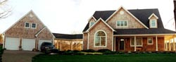 Country Style Home Design Plan: 43-216
