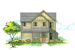 Craftsman Style House Plans Plan: 44-459