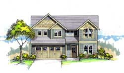 Craftsman Style House Plans Plan: 44-460