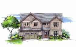 Craftsman Style House Plans Plan: 44-464