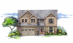 Craftsman Style Floor Plans Plan: 44-465