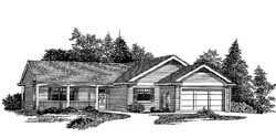 Traditional Style Floor Plans Plan: 44-470