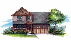 Craftsman Style House Plans Plan: 44-471