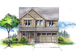 Craftsman Style Floor Plans Plan: 44-479