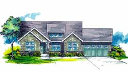 Bungalow Style House Plans Plan: 44-480