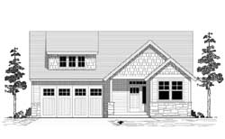 Bungalow Style Floor Plans Plan: 44-481