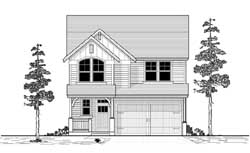 Traditional Style House Plans Plan: 44-482