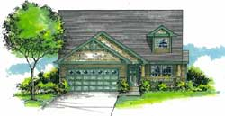 Craftsman Style House Plans Plan: 44-489