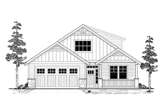 Traditional Style House Plans Plan: 44-490