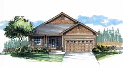 Craftsman Style House Plans Plan: 44-495