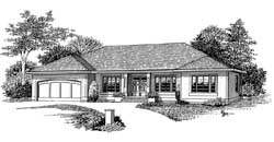 Traditional Style Floor Plans Plan: 44-496