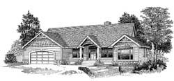 Northwest Style Floor Plans Plan: 44-498