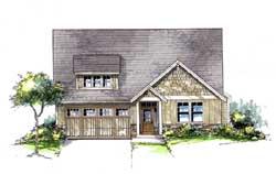 Bungalow Style House Plans Plan: 44-502