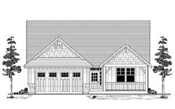 Country Style House Plans Plan: 44-506