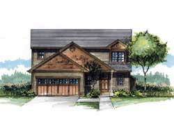 Craftsman Style House Plans Plan: 44-508