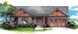 Craftsman Style House Plans Plan: 44-510