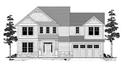 Craftsman Style Floor Plans Plan: 44-512