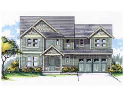 Craftsman Style House Plans Plan: 44-513