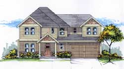Craftsman Style House Plans Plan: 44-514