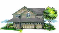 Craftsman Style Floor Plans Plan: 44-524