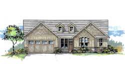 Craftsman Style Floor Plans Plan: 44-525